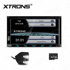 "2 Din 7"" HD Car Stereo DVD Radio Player Ipod TV Bluetooth GPS Navigation+MAP+Cam"