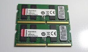 32gb Kingston laptop RAM 2 x 16gb PC4-2133 - Dell Latitude 3580 5280 5480 5490