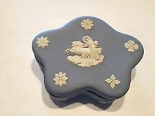 WEDGEWOOD 76 Blue Ring Box