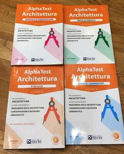 Alpha Test Architettura - Kit completo di preparazione