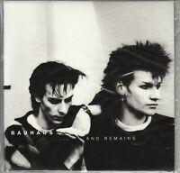 BAUHAUS ...And Remains 2009 UK 4AD 7-trk CD NEW/UNPLAYED BAUSAM1