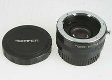 Tamron MC Tele Converter 2x for Contax inklusive: Front + Rückdeckel
