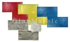 Concrete Stamps SM 2201, Set of 5 Pc. Stamped Concrete. Slate Stone