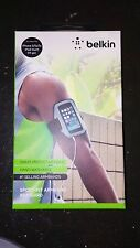 Belkin iPhone 5 Sport-Fit Armband GRAY Brassard Sweat-Protective Hood