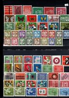 200 different MNH ** stamps Germany 1950s to 1990s,  Free  UK P&P