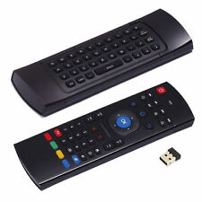Tastiera Telecomando Air Mouse Wireless Pc Android Box Smart Tv 2.4Ghz Consolle