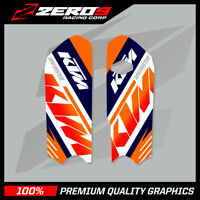KTM SX 85 2013 - 2017 LOWER FORK DECAL MOTOCROSS GRAPHICS MX GRAPHICS TEAM ISSUE