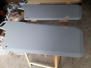 2x Schwert Ixylon NEU Segeljolle Neu Birke Multiplex grau lackiert