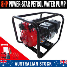 "NEW 8HP 2"" PETROL HIGH PRESSURE WATER TRANSFER PUMP FIRE FIGHTING IRRIGATION"