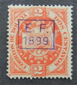 nystamps Bolivia Stamp # 56 Mint OG H $40   L30y300