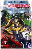 TRANSFORMERS ROBOTS in DISGUISE #0, NM, FCBD, 2015, more Promo/items in store