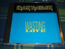 Iron Maiden Wasting Love promotional  cd
