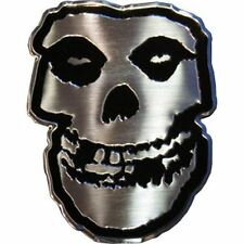 MISFITS - SKULL LOGO - METAL STICKER 2.5 x 3 - BRAND NEW - CAR DECAL 7767