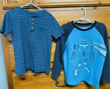 Boys Size 6 Shirts - Garanimals & Sonoma - Lot Of 2