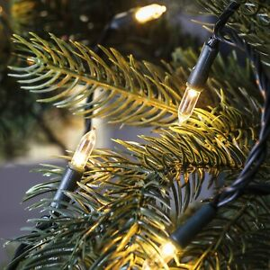150 Warm White LED Traditional Christmas Tree Lights