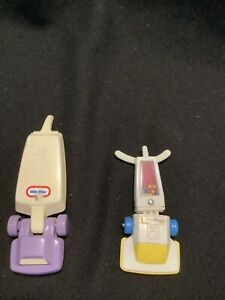 Vintage Little Tikes Dollhouse Vacuum Fisher Price lot of (2)