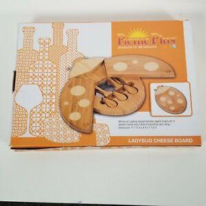 Picnic Plus Ladybug Cheese Board -New - Open Box