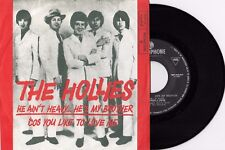 "THE HOLLIES HE AIN'T HEAVY... HE'S MY BROTHER 1969 VINYL RECORD YUGOSLAVIA 7"" PS"
