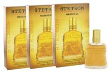 Lot of 3 Stetson Original By Coty Aftershave Cologne 1.75Oz edition Collector's