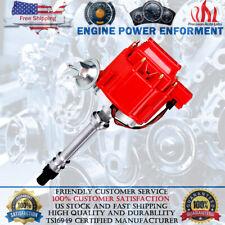 Racing HEI Distributor Super Coil For Chevy SBC 305/350/400 Small / Big Block V8