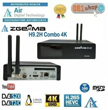Decoder Zgemma H9.2H 4K Linux Enigma2 S2x/T2/C Combo Wifi Multistream