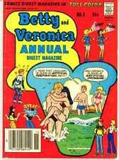 9 Digest Comic Magazines Archie Bettie Veronica Jughead Reggie 1975 to 1998