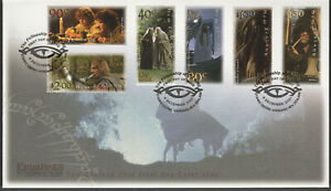 New Zealand 2001 The Lord of the Rings The Fellowship of the Ring FDC