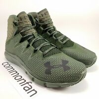 Under Armour Project Rock Delta Green Training Shoes 3020175-300 Men's Size 9