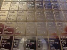 Lot of 5 X 1 Gram Silver Valcambi Bars Nice!! Swiss Precision Made