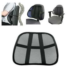 Massage Cushion Vent Mesh Back Lumber Support Office Chair Car Seat Relax Pad JJ