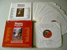 WAGNER On Record 1926-1942 Barbirolli Beecham Furtwangler etc vinyl 7LP box set