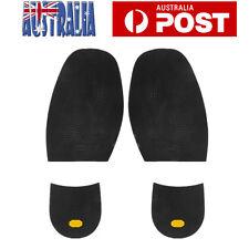 1 Pair DIY Shoes Repair Kit Rubber Glue On Soles Heel Palm Anti-Slip Anti Grip