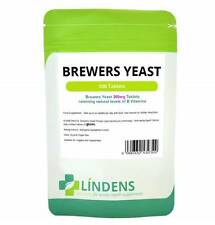 Brewers Yeast 300mg x 500 tablets Natures Aid - natural source of B Vitamins Veg