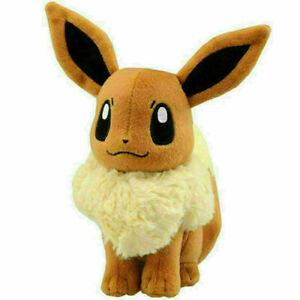 Pokémon Evoli Eevee Plüschtier Stofftier Plüsch Spielzeug Kuscheltier Geschenk A