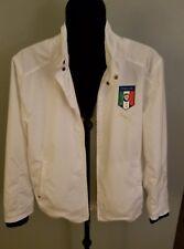 38639fe7c368 Puma Mens Athletic Figc Italia Track wind breaker Jacket White Size Sm