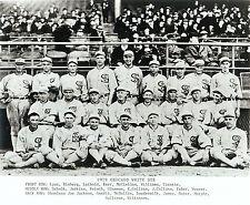 1919 Chicago White Sox's Team 8x10 photo (Black Sox's), Joe Jackson