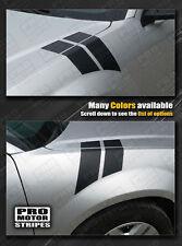 Dodge Avenger 2008 2014 Fender Hash Side Stripes Decals Choose Color