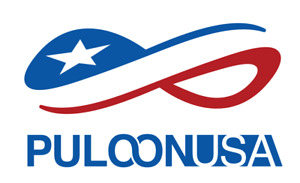 Puloon USA sticker  6 x 3.67