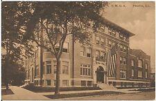 Y.M.C.A. in Peoria IL Postcard