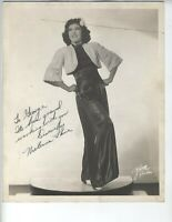 MELEANA LANE DANCER PHOTO AFRICAN AMERICAN SINGER VINTAGE 8X10 INCH PENNSYLVANIA