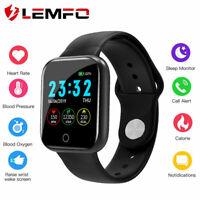LEMFO I5 Smart Watch Men Women Heart Rate Blood Oxygen Pressure Fitness Bracelet