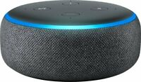 2 Pack NEW Amazon Echo Dot (3rd Generation) with Alexa - Smart Speaker -Charcoal