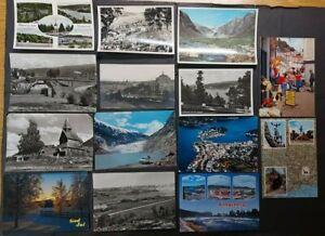 (221) Konv. ca 47 AK Ansichtskarten Norwegen, Oslo, Tromsö,  ua  ca ab 1920