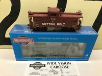 Athearn RND HO Scale SSW Cotton Belt Wide Vision Caboose RD #17 RTR New