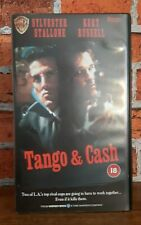 Tango and Cash VHS Video Ex Rental 1989 Action Sylvester Stallone Kurt Russell