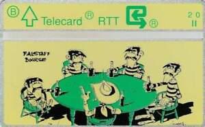 Telefoonkaart / Phonecard België - Lucky Luke / Falstaff Bourse (062)