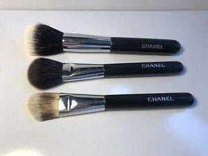 Chanel make up brushes (4-blush, 6-foundation, 7-foundation/powder)