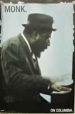 Thelonius Monk 2002 on Columbia BIG promotional poster Very Good++ New Old Stock