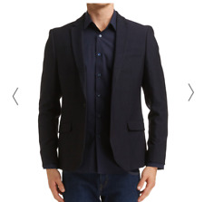 Saba Mens Red Label Item Jacket Navy Size 40 BNWT RRP $549.00