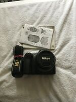 Nikon D D50 6.1MP Digital SLR Camera - Black